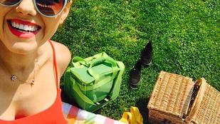 Csobot Adél nem vett melltartót, de szeret piknikezni