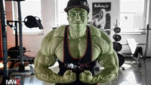 Ha zöldre festenék, ő lenne a magyar Hulk