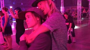 Ellen Page és csaja nagyon imádják egymást