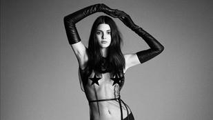 Kendall Jenner azt hiszi, van rajta ruha, de egy kicsit téved