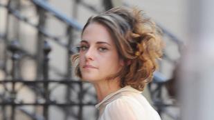 Kristen Stewartnak nagyon jól áll a forgatás