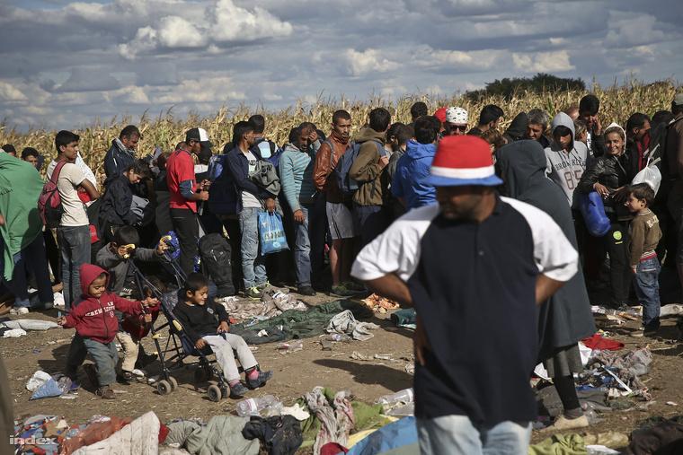 Az Index korábbi felvétele Magyarországon tartózkodó menekültekről