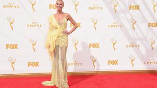 Heidi Klum Emmy-ruhája egyszerűen értelmezhetetlen