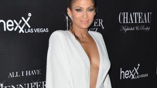Jennifer Lopez mellei is fényre vágytak