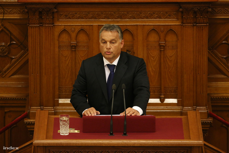 Orbán Viktor miniszterelnök napirend előtti felszólalásával kezdődött a parlament őszi ülésszaka.