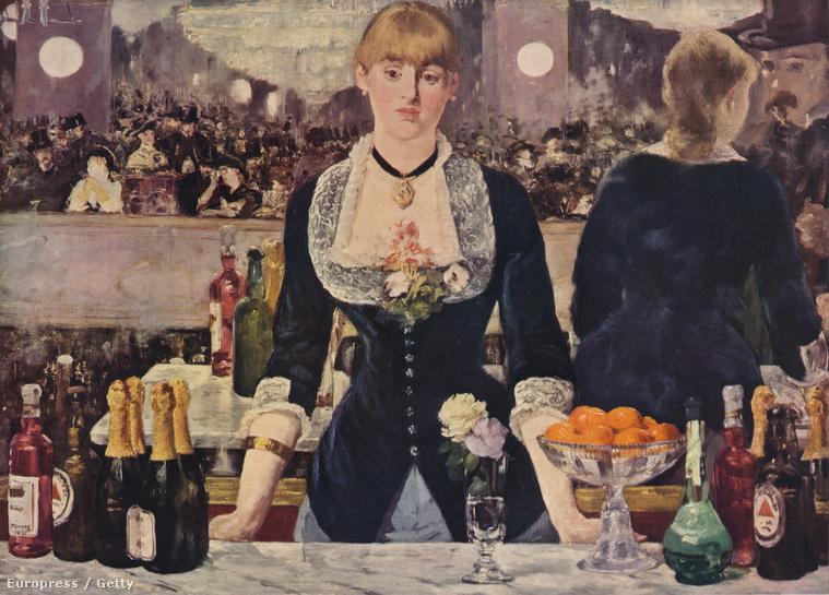 Édouard Manet: Le Bar aux Folies-Bergère