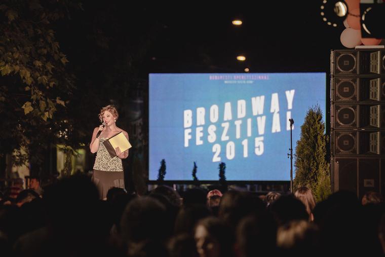 Broadway Fesztivál a Budapesti Operettszínház szervezésében.