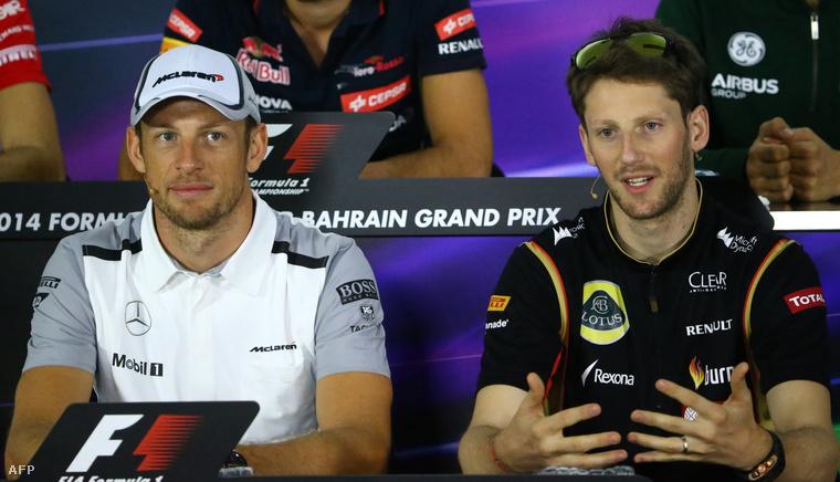 Button és Grosjean, előbbi maradt, utóbbi váltott