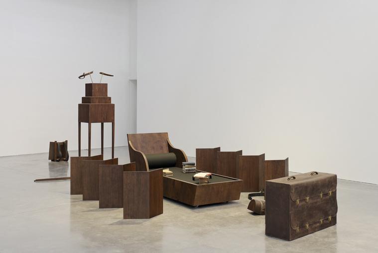 Alfred Palestra, installáció, FRAC Bretagne, Play Time; Les Ateliers de Rennes, 2014