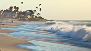 Meztelen nőt sodort Kalifornia partjaira az áramlat