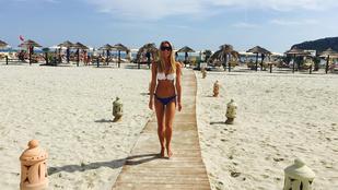 Direkt csinálja: Iszak Eszter már megint bikinis képet posztolt