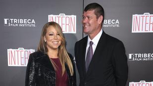 Mariah Carey a vörös szőnyegen is megmutatta új pasiját