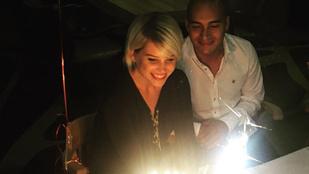 Szabó Zsófi új pasijával ünnepli születésnapját