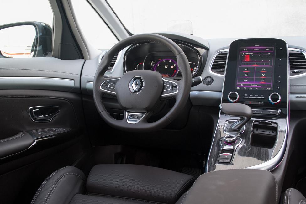 A Renault minden típusába begyűrűzik az álló tablet, itt 8,7 colos képátlóval