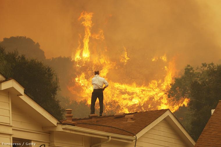 Idén nyáron is több erdő- és bozóttúz pusztított Kaliforniában