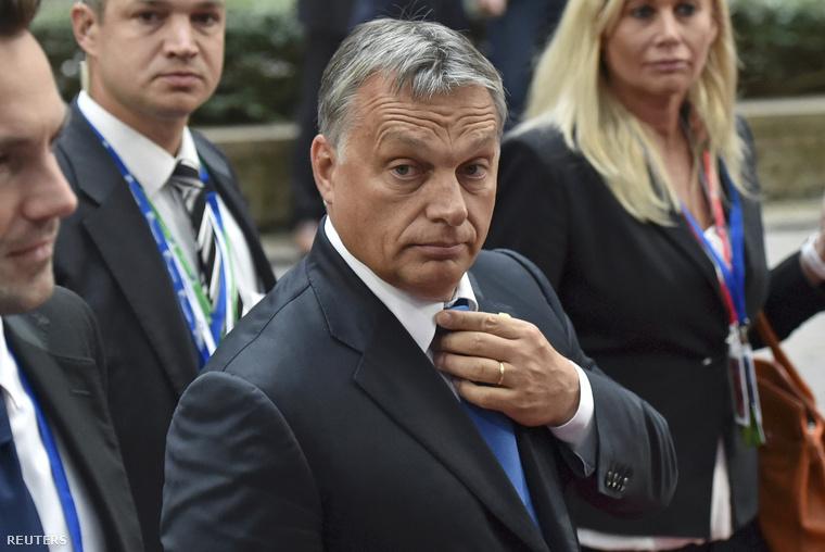 Orbán Viktor érkezik a csúcstalálkozóra