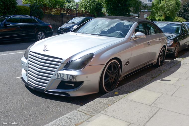 Egy hihetetlen igényességgel átalakított jobb sorsra érdemes Mercedes Londonban.