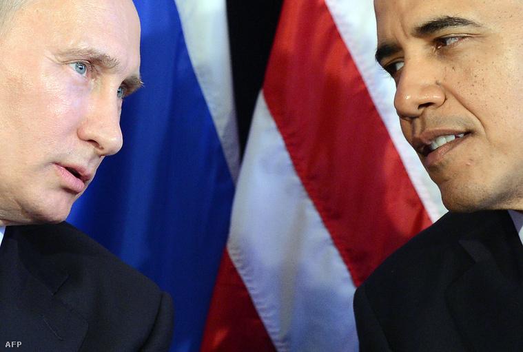 Putyin és Obama a 2012-es G20 csúcstalálkozón