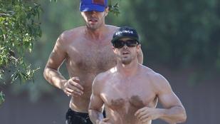 Chris Martinék pucérkodtak és bekoszolódtak futás közben