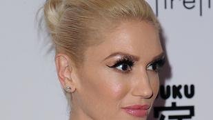 Gwen Stefani arca még mindig nagyon fura
