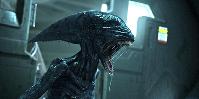 Az Alien elődje az Alien előzményfilmjében, a Prometheusban